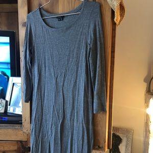 NWOT grey theory 3/4 sleeve dress size small